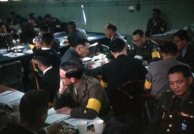 U.N. negotiators at Panmunjom