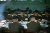 North Korean senior officers at Panmunjom