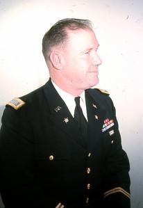 Frank S. Farmer in dress blue uniform