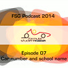 FSG-podcast 2014 - E07 Car Number