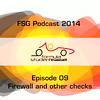 FSG-podcast 2014 - E09 - Firewall
