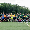 The Fitchburg State soccer team hosted the annual alumni soccer game on Saturday afternoon, with current players facing off against alumni. SENTINEL & ENTERPRISE / Ashley Green