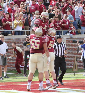 Dalvin Cook celebrates his 2nd TD of the game