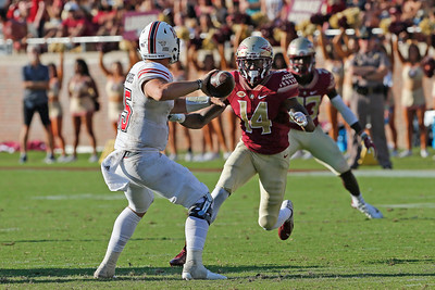Northern Illinois Huskies Football at Florida State Seminoles.  September 22, 2018