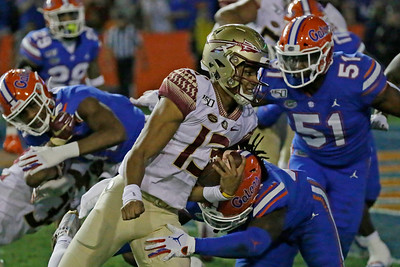Florida State Seminoles @ Florida Gators