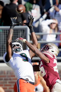 Miami Hurricanes @ Florida State Seminoles