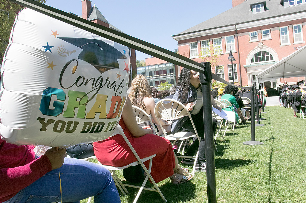 . The 123rd Commencement ceremony for Undergraduates was held at Fitchburg State University on Saturday, May 18, 2019. SENTINEL & ENTERPRISE/JOHN LOVE