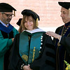The 123rd Commencement ceremony for Undergraduates was held at Fitchburg State University on Saturday, May 18, 2019. Getting an honorary degree is Anna Maria Clementi the vice chairman of the Board of Trustees SENTINEL & ENTERPRISE/JOHN LOVE