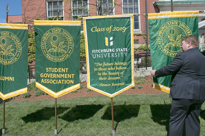 The 123rd Commencement ceremony for Undergraduates was held at Fitchburg State University on Saturday, May 18, 2019. SENTINEL & ENTERPRISE/JOHN LOVE