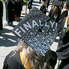 The 123rd Commencement ceremony for Undergraduates was held at Fitchburg State University on Saturday, May 18, 2019. One of the many decorated mortar boards at the graduation. SENTINEL & ENTERPRISE/JOHN LOVE