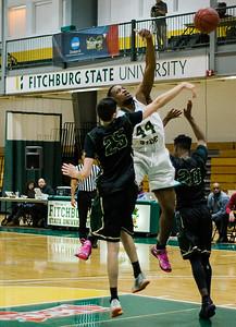 FSU Mens Basketball v. Elms College