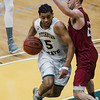 Fitchburg State's Jonathan Perez in action during the game against MIT on Saturday, December 9, 2017. SENTINEL & ENTERPRISE / Ashley Green