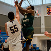Fitchburg State's Chima Ebele in action against Worcester State on Saturday afternoon. SENTINEL & ENTERPRISE / Ashley Green