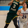 Fitchburg State's Joshua Bosworth in action against Worcester State on Saturday afternoon. SENTINEL & ENTERPRISE / Ashley Green