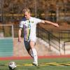 Fitchburg State University mens soccer played Salem State on Saturday, Nov. 2, 2019. FSU's #25 Zachary Brol. SENTINEL & ENTERPRISE/JOHN LOVE