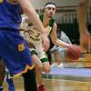 Fichtburg State University men's basketball played Worcester State University Saturday, Jan. 25, 2020 in Fitchburg at the FSU Recreation Center. FSU's #3 Xavier Betancourt. SENTINEL & ENTERPRISE/JOHN LOVE
