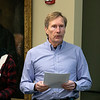 Fichtburg State University Board of Trustees held a meeting on Tuesday morning, Jan 28, 2020 at the Presidents' Hall - Mazzaferro Center on Campus. Steve Holt the spokesman for Preserve the Pool Committee addresses the committee during the meeting. SENTINEL & ENTERPRISE/JOHN LOVE