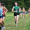 Fitchburg State University Cross Country teams held the Jim Sheehan Memorial Invitational at the Doyle Conservation Area in Leominster on Saturday, September 7, 2019. FSU's Erin Maida (#53). SENTINEL & ENTERPRISE/JOHN LOVE