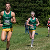 Fitchburg State University Cross Country teams held the Jim Sheehan Memorial Invitational at the Doyle Conservation Area in Leominster on Saturday, September 7, 2019. FSU's Tim Sheehy (#204). Just behind him is FSU's Samuel Flint (#195). SENTINEL & ENTERPRISE/JOHN LOVE