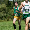 Fitchburg State University Cross Country teams held the Jim Sheehan Memorial Invitational at the Doyle Conservation Area in Leominster on Saturday, September 7, 2019. FSU's Conor Dandy (#191). SENTINEL & ENTERPRISE/JOHN LOVE