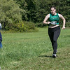 Fitchburg State University Cross Country teams held the Jim Sheehan Memorial Invitational at the Doyle Conservation Area in Leominster on Saturday, September 7, 2019.  FSU's Melony Ellis (#50). SENTINEL & ENTERPRISE/JOHN LOVE