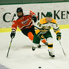 Fitchburg State's Mike Fish in action during the game against Salem State on Thursday evening. SENTINEL & ENTERPRISE / Ashley Green