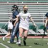Fitchburg State University ladies lacrosse played Salem State University on Saturday, March 27, 2021 at Elliot Field.  FSU's #3 Nicole Kopacz scores. SENTINEL & ENTERPRISE/JOHN LOVE
