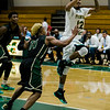 Fitchburg State's Leonny Burgos in against against Elms College on Tuesday evening. SENTINEL & ENTERPRISE / Ashley Green