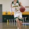 Fitchburg State University men's basketball played Salem State University on Saturday, Jan. 11, 2020 at the FSU's Recreation Center. FSU's #3 Xavier Betancourt. SENTINEL & ENTERPRISE/JOHN LOVE