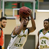 Fitchburg State University men's basketball played Salem State University on Tuesdsay night, January 9, 2019 at FSU's Recreation Center. SENTINEL & ENTERPRISE/JOHN LOVE