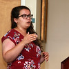 Eighteen Fitchurg State University students who have been working with faculty on paid research programs involving the health of the Fitchburg Community presented their work Thursday, July 27, 2017 at the Mazzaferro Center in Presidents' Hall at the University. SENTINEL & ENTRPRISE/JOHN LOVE