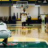Fitchburg State's Leonny Burgos squats down in shock following the game against Worcester State on Thursday, February 23, 2017. WSU would come out on top 71-68, moving on to the MASCAS finals on Saturday. SENTINEL & ENTERPRISE / Ashley Green