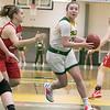 Fitchburg State University womens basketball played Worcester Polytechnic Institute on Thursday night, Nov. 21, 2019 in Fitchburg. FSU's #22 Catherine Coppinger. SENTINEL & ENTERPRISE/JOHN LOVE