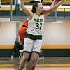 Fitchburg State University women's basketball played Salem State University on Saturday, Jan. 11, 2020 at the FSU's Recreation Center. FSU's #32 Lindsay McDonald fights for a rebound. SENTINEL & ENTERPRISE/JOHN LOVE
