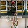 Fitchburg State University women's basketball played Salem State University on Saturday, Jan. 11, 2020 at the FSU's Recreation Center. FSU's #0 Angelina Marazzi shots a foul shot. SENTINEL & ENTERPRISE/JOHN LOVE