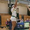 Bridgewater State University girls basketball visited Fitchburg on Wednesday, Jan. 22, 2020 to play Fitchburg State University. FSU's #35 Jadelen Harold puts up a outside shot. SENTINEL & ENTERPRISE/JOHN LOVE