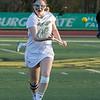 Fitchburg State University women's lacrosse played Regis College on Thursdasy afternoon, March 5, 2020. FSU's #16 Rebecca Fisher. SENTINEL & ENTERPRISE/JOHN LOVE