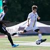 Fitchburg State University men soccer played Framingham State University on Saturday, September 21, 2019 at Elliot Field on campus. FSU's #12 Dylan McCall. SENTINEL & ENTERPRISE/JOHN LOVE