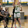 Fitchburg State University women's basketball played Dean College on Tuesday night at the FSU Recreation Center in Fitchburg. FSU's #22 Catherine Coppinger. SENTINEL & ENTERPRISE/JOHN LOVE