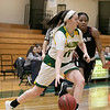 Fitchburg State University women's basketball played Dean College on Tuesday night at the FSU Recreation Center in Fitchburg. FSU's #11 Payton Holmes drives to the basket. SENTINEL & ENTERPRISE/JOHN LOVE