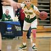 Fitchburg State University womens basketball played Albertus Magnus College on Saturday, Nov. 23, 2019 at the university's Recreation Center. FSU's #0 Angelina Marazzi. SENTINEL & ENTERPRISE/JOHN LOVE