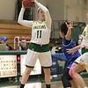Fitchburg State University womens basketball played Albertus Magnus College on Saturday, Nov. 23, 2019 at the university's Recreation Center. FSU's #11 Payton Holmes. SENTINEL & ENTERPRISE/JOHN LOVE