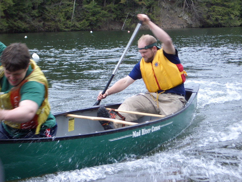 April 23, 2004: WW04 Friday events at Oak Hill and Storrs Pond.
