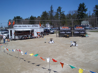 WW2008 at UNH.  Once again Stihl was a major sponsor.