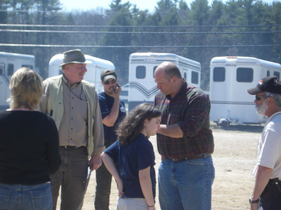 WW2008 at UNH. Don Quigly (left), ? (center), and Matt Gagnon (right), UNH alums.  Don was head judge and Matt was m.c.