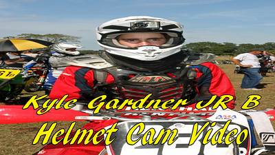 Kyle Gardner #288 JR  B class 20 minute video