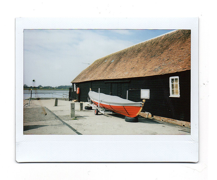 boat house, bosham quay, west sussex