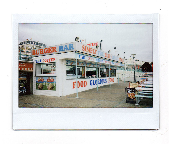 fast food, promenade, brighton, east sussex