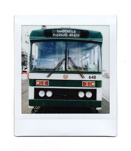 tram, blackpool, lancs