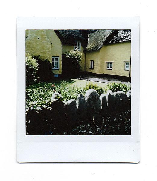 cottage, bossington, somerset